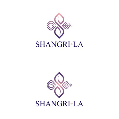 Design a lush sexy chic logo for our modern beach home Shangri-La