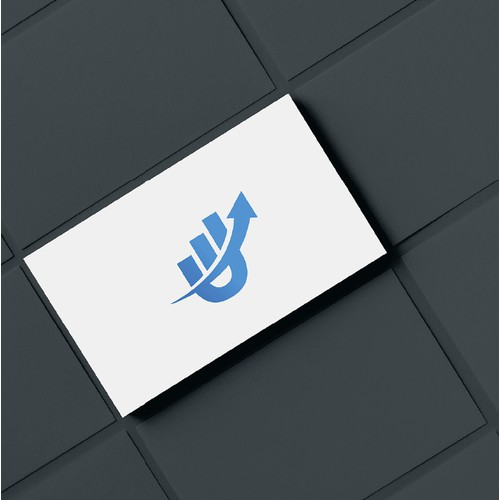 Logo for business tech company
