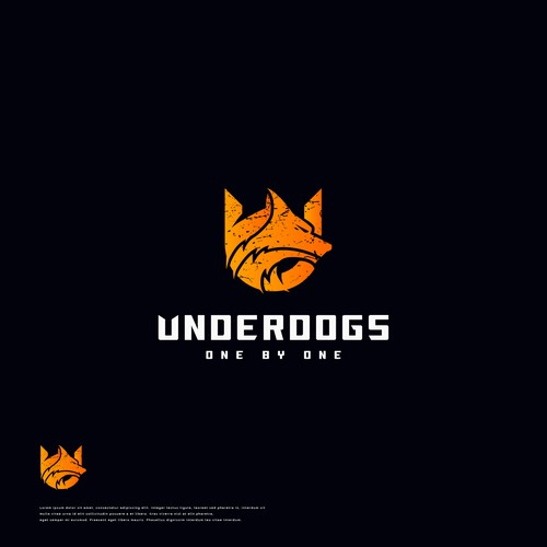 Winning Logo Concept for Underdogs