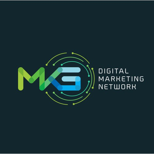 redesign for MKG logo , a digital marketing network company.