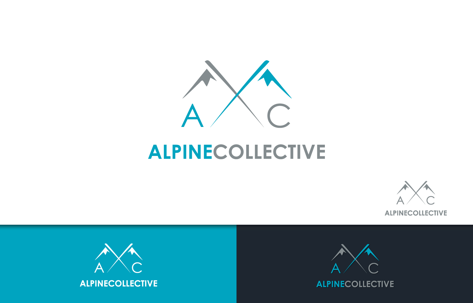 Create the Logo for ALPINE COLLECTIVE