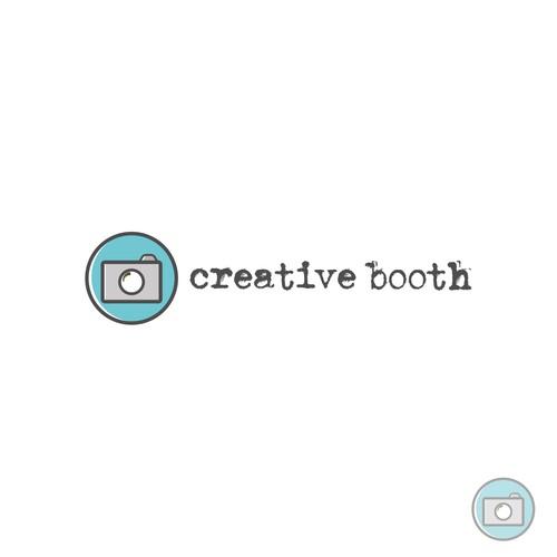 Simple, modern photography logo