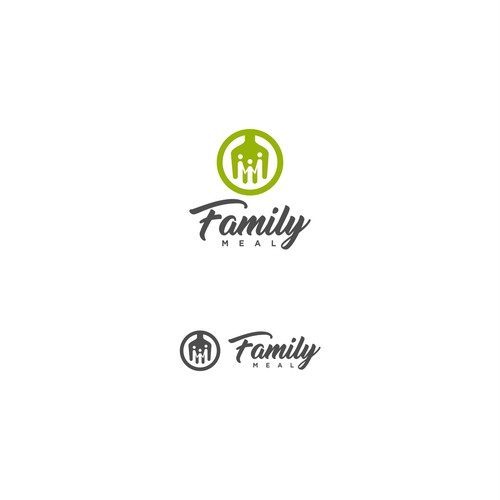 Logo Concept for Family Meal