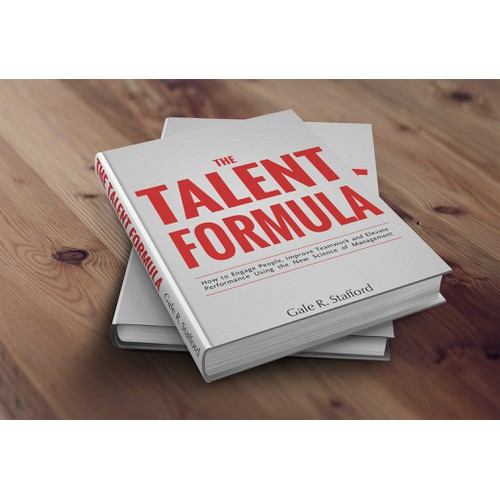 "Create a book cover for ""The Talent Formula"" (soon to be published)"