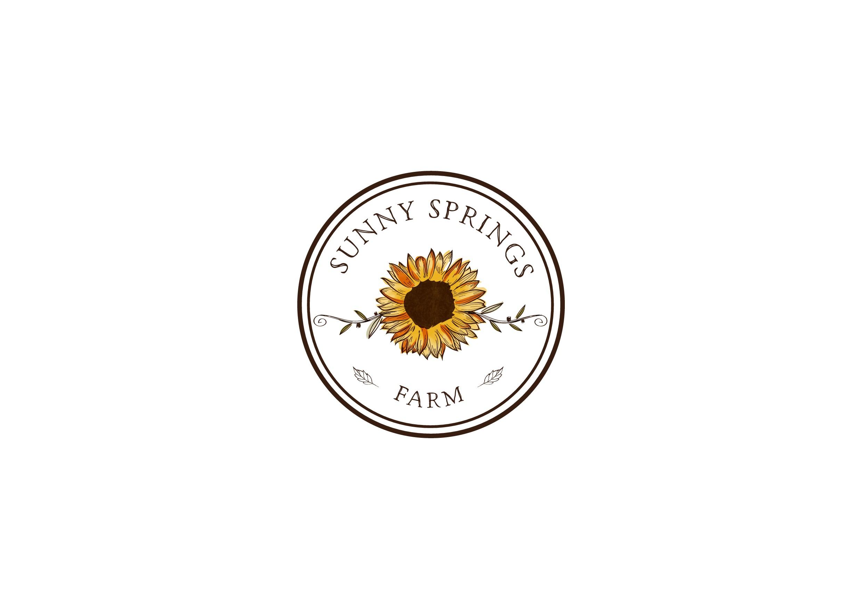 create a fun logo for Sunny Springs Farm
