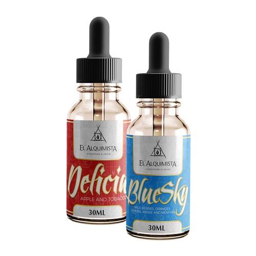 E-liquid Label Design