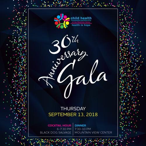 Child Health Gala Invitation
