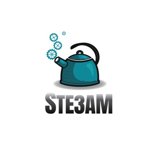 Logo for 'Ste3am'