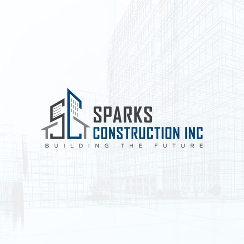 Logo - Sparks Construction