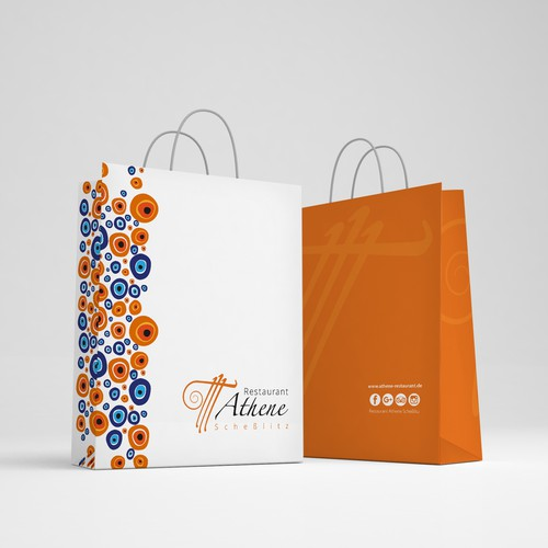 Bag Desing for Restaurant