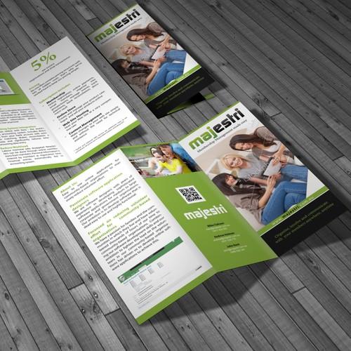 Help Majestri Pty Ltd with a new brochure design