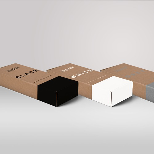 Packaging design for stylus pen