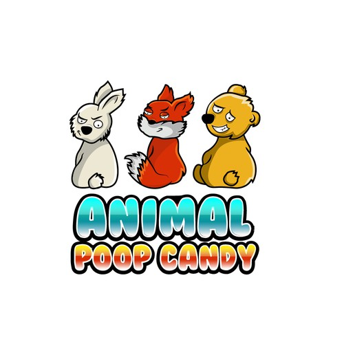 Logo for a candy company