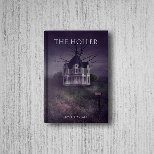 Creepy book cover - The Holler