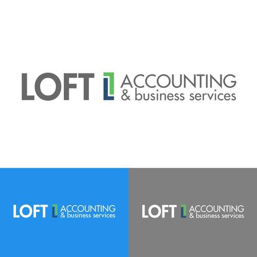 Loft Accounting needs a modern/professional logo
