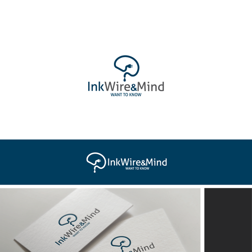 Logo design for INKWIREandMIND