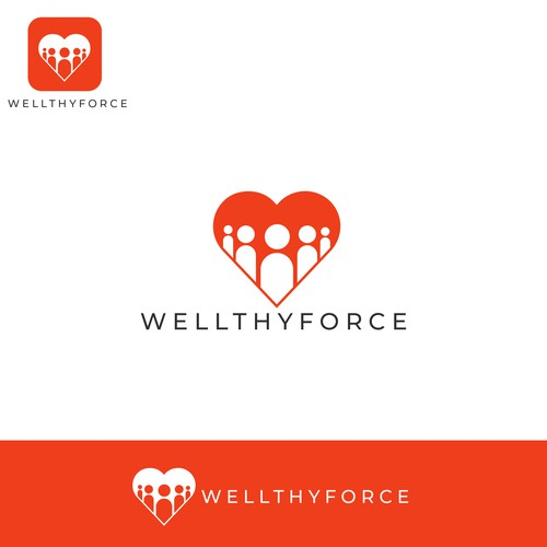 Logo for a well being company