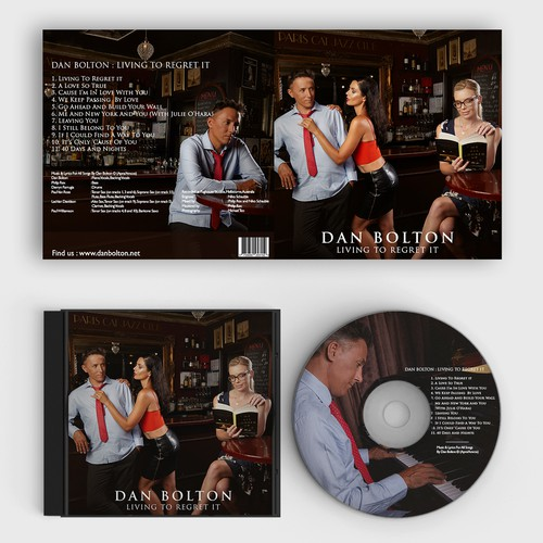 Design concept for Cover CD