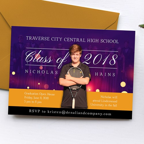 Invitation Postcard Design