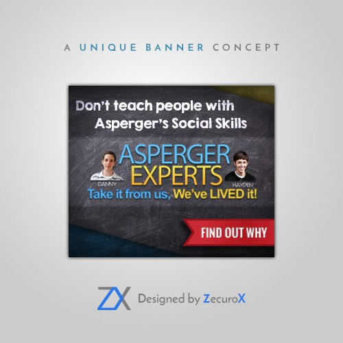 Banner Ad For Asperger's/Autism