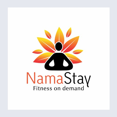Very attractive logo option for YOGA APP