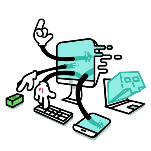 Hacking Illustration