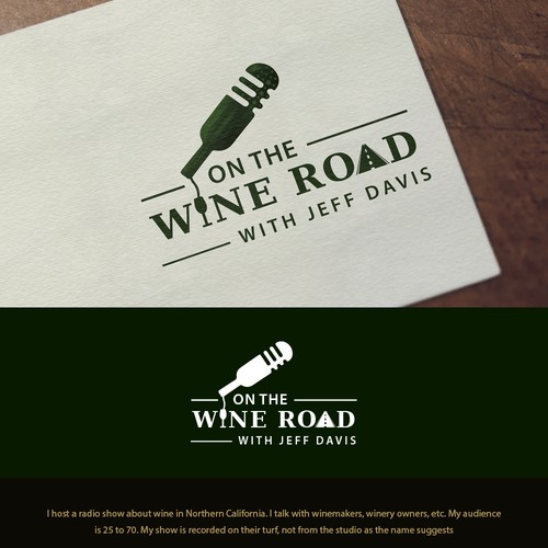 Logo Design for On The Wine Road