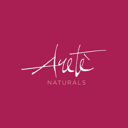 Custom lettering for Arete