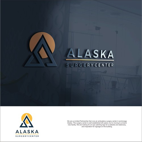 signage for Alaska's top Surgery Center!