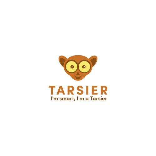 Happy smart tarsier