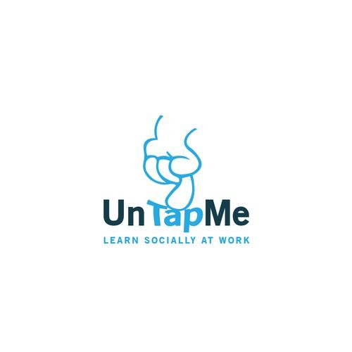 UnTapMe / logo design
