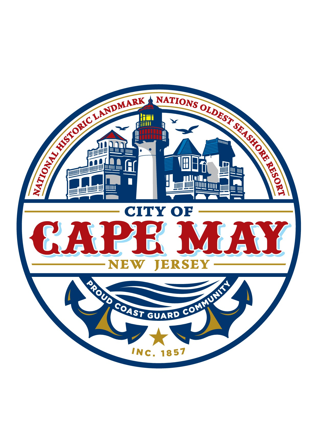 Help the City of Cape May with a New Logo Design