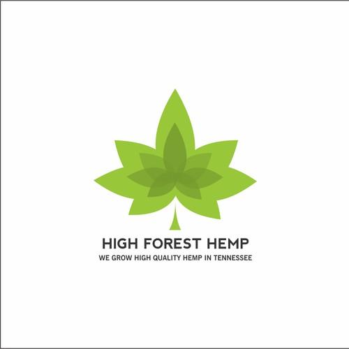high forest hemp logo
