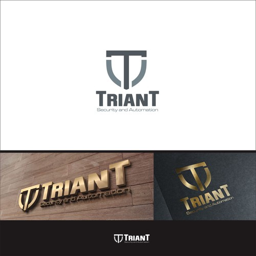 Bold logo concept for TRIANT