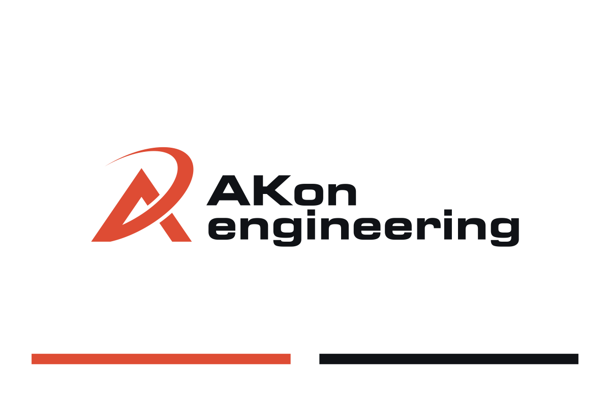 Visitenkarte und Briefpapier - AKon-engineering