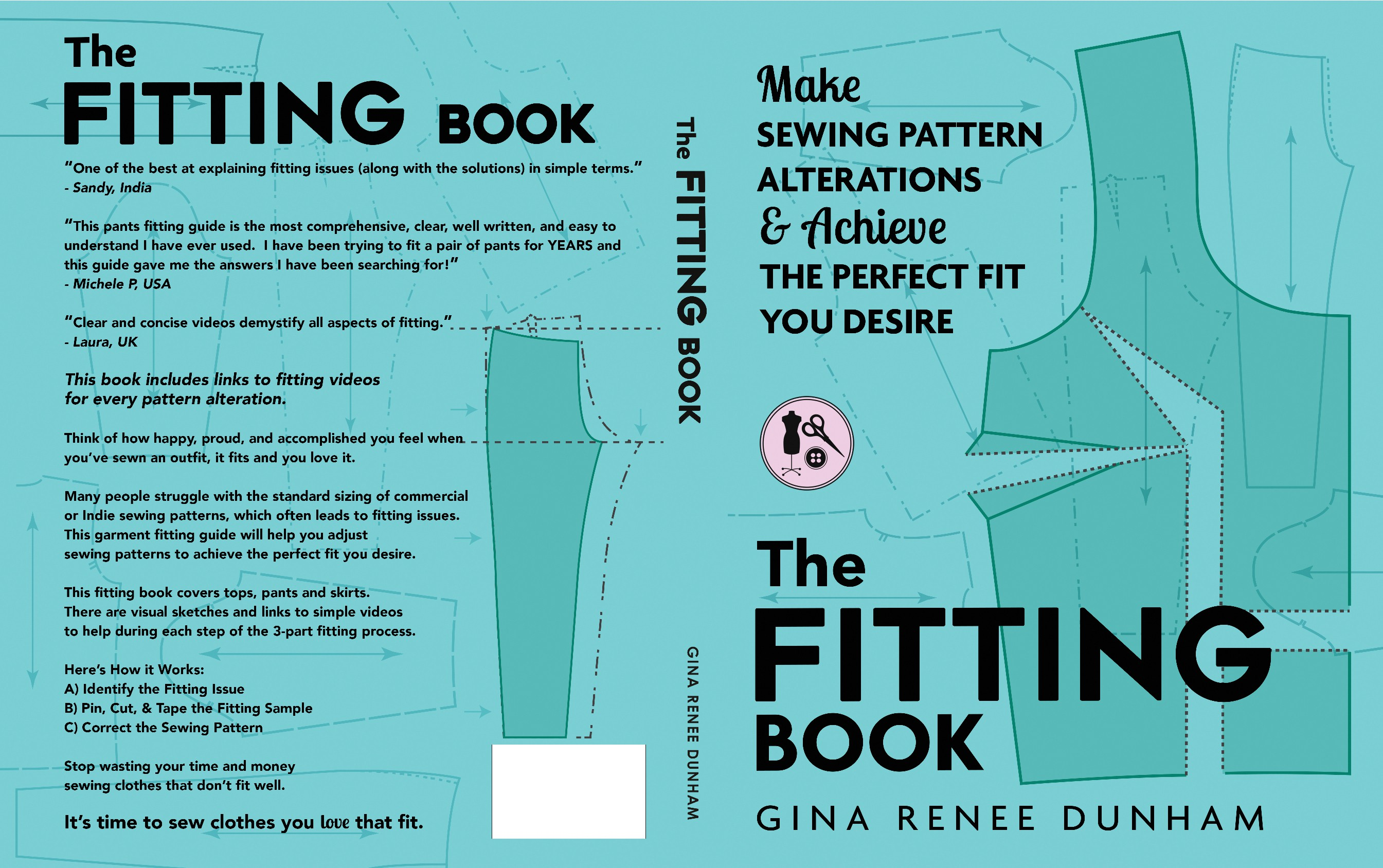 Need an amazing Book Cover for a Clothing Fitting book - geared toward Patternmakers