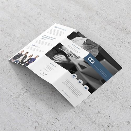 Modern Brochure Concept for Dolphiq