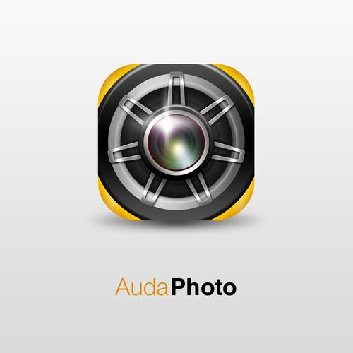 AudaPhoto Icon Apps Design Concept