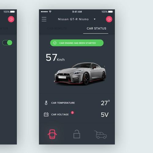 Car Remote App