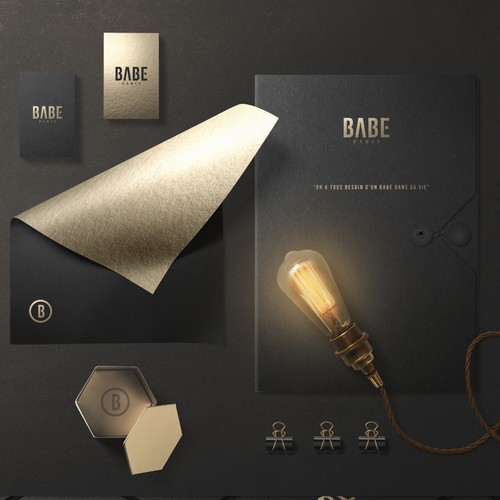 Upscale branding for Babe®