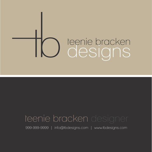 TB Interior Designs needs a new stationery