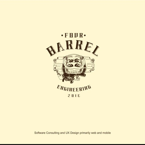 4 Barrel Logo