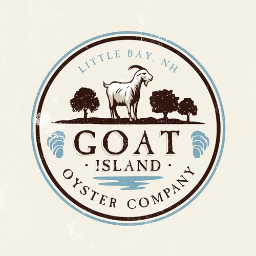 Logo Design for Small New Hampshire Oyster Farm