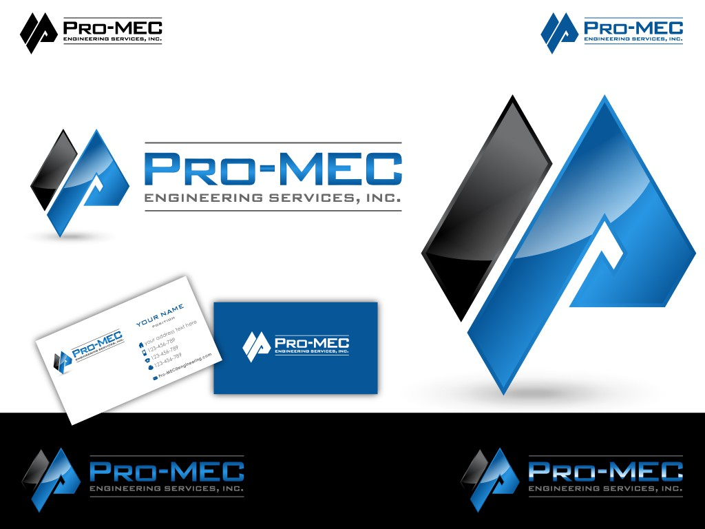 Help Pro-MEC Engineering Services, Inc. with a new logo