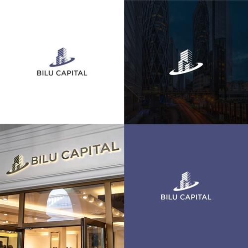 Bold modern logo design with a slight detail concept for Bilu Capital