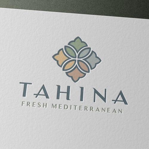 Logo concept for Mediterranean restaurant
