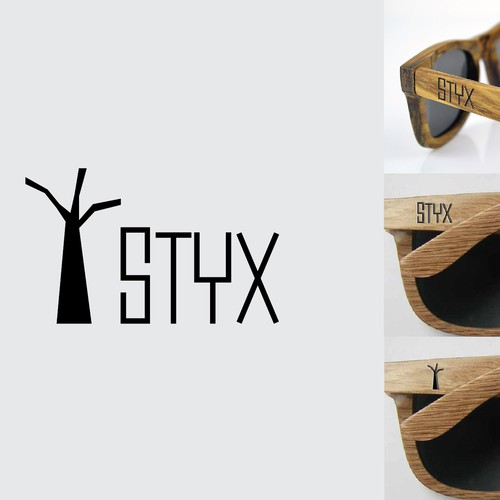 Logo for earth friendly sunglasses