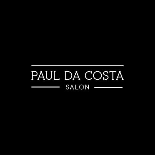 Help Paul Da Costa Salon  with a new logo