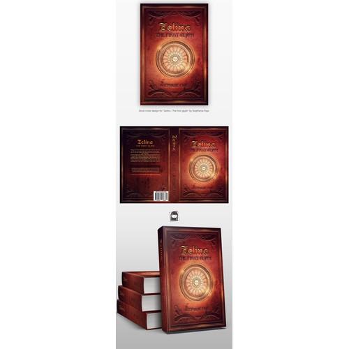 Cover design for a fantasy book