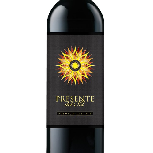 Create the next product label for Presente del Sol